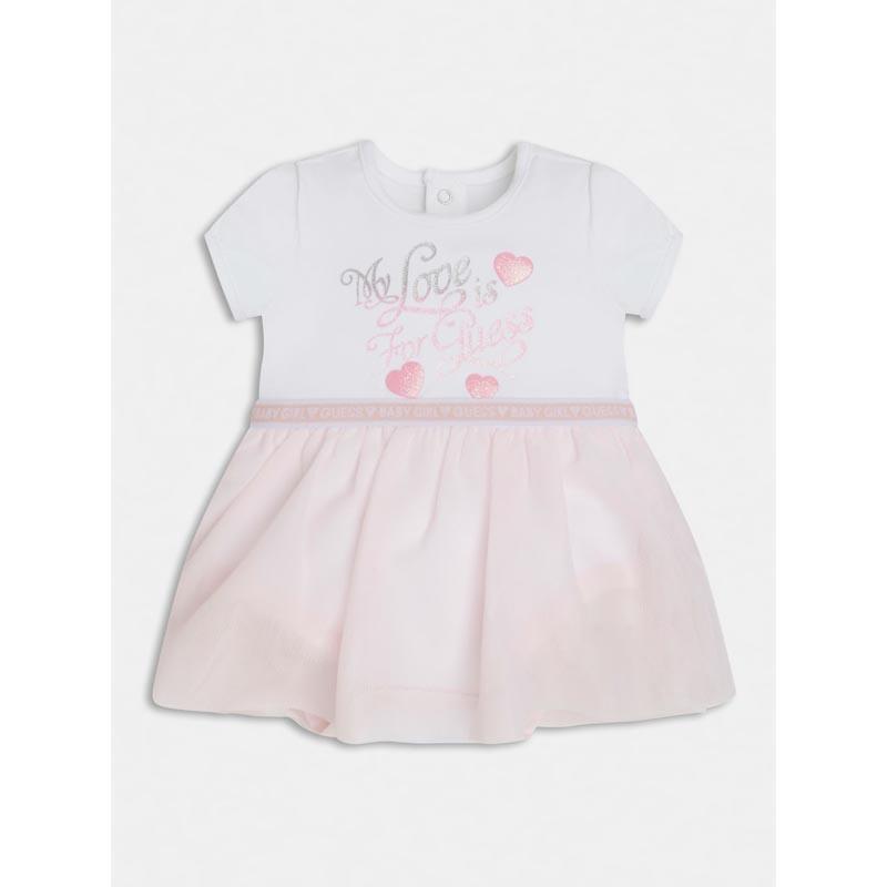 Бебешка боди рокля Guess S1RG08J1311