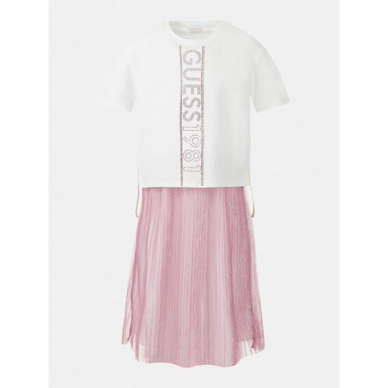 Комбинирана рокля за момиче Guess J1RK22K6YW0