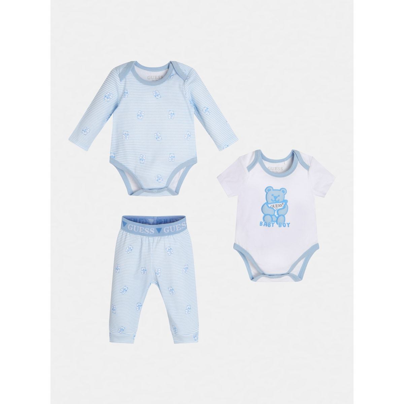 Бебешки комплект от 3 части за момче Guess H1RW04KA6W0