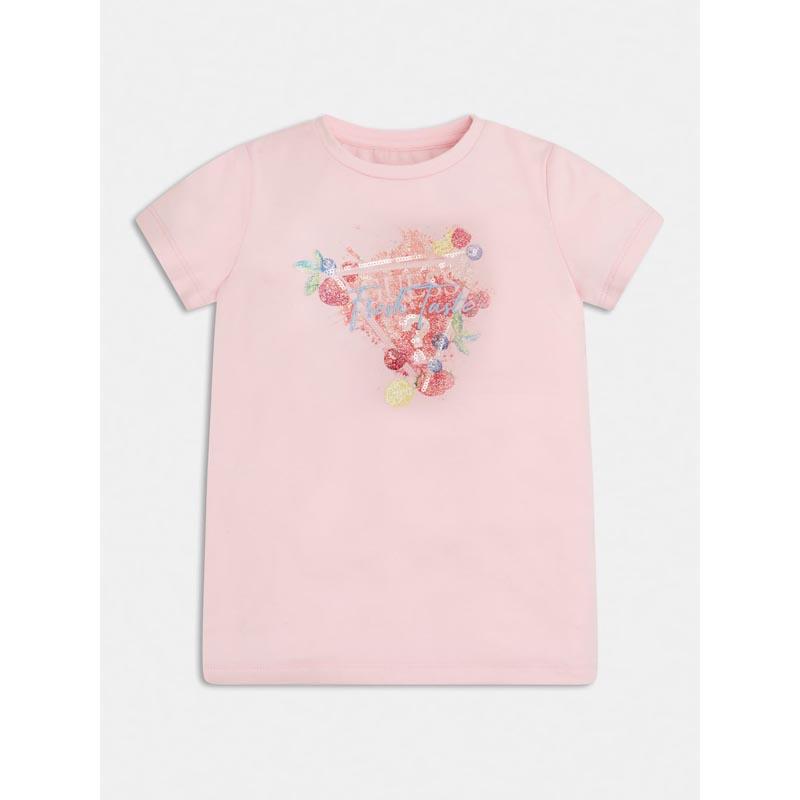 Детска тениска с флорални мотиви Guess K1GI19K6YW1