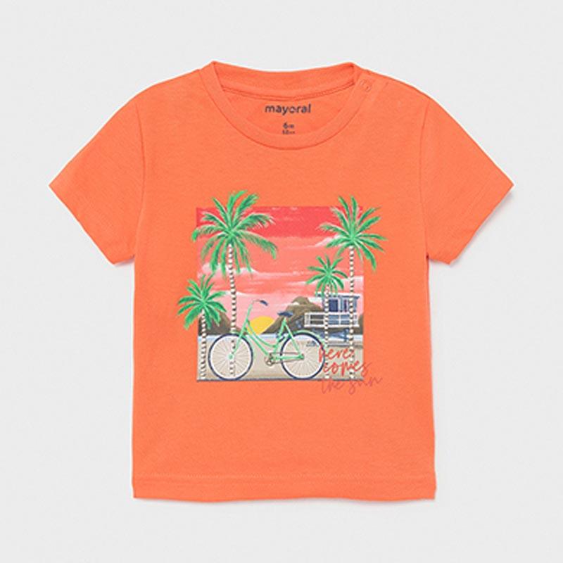 Бебешка цветна тениска Mayoral 1013