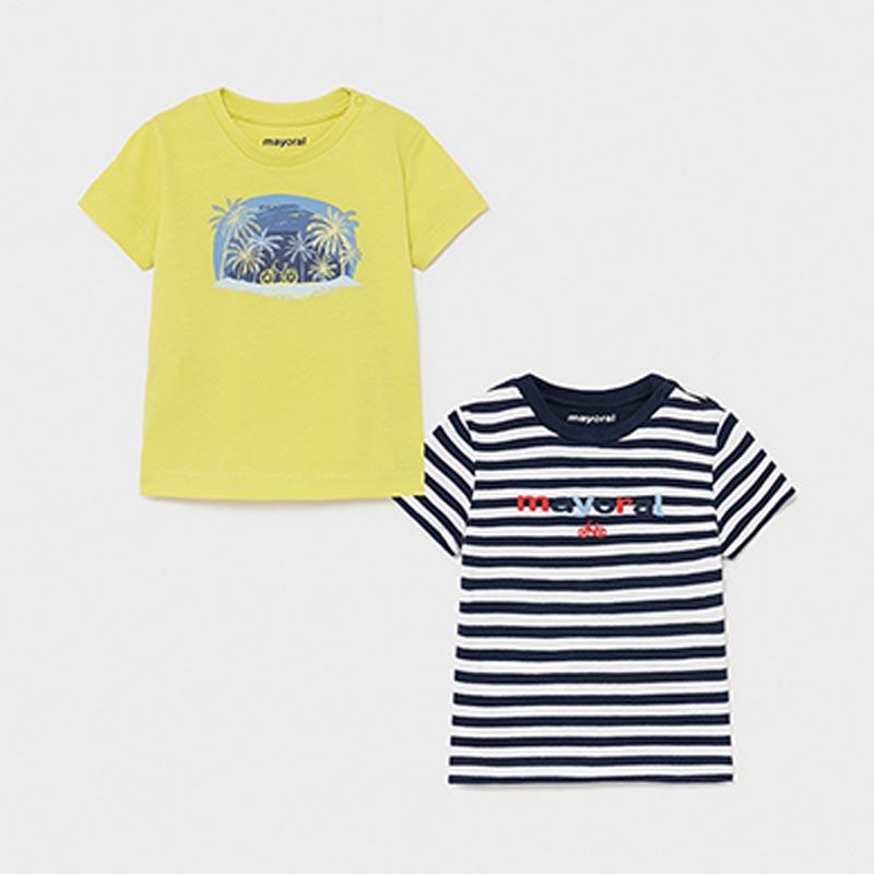 Комплект бебешки тениски Mayoral 1015