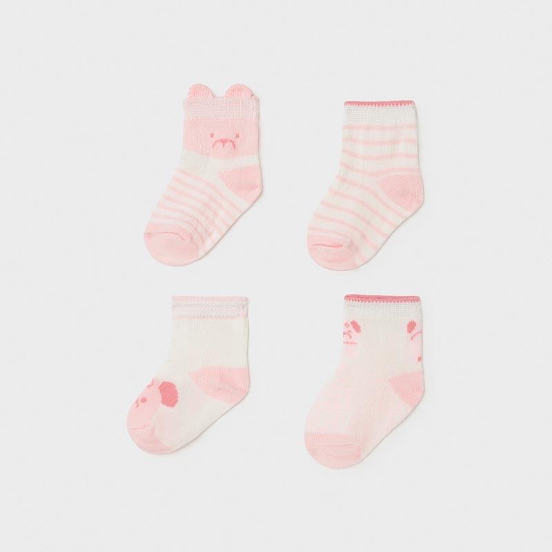 Комплект от 4 чифта бебешки чорапки Mayoral 9360