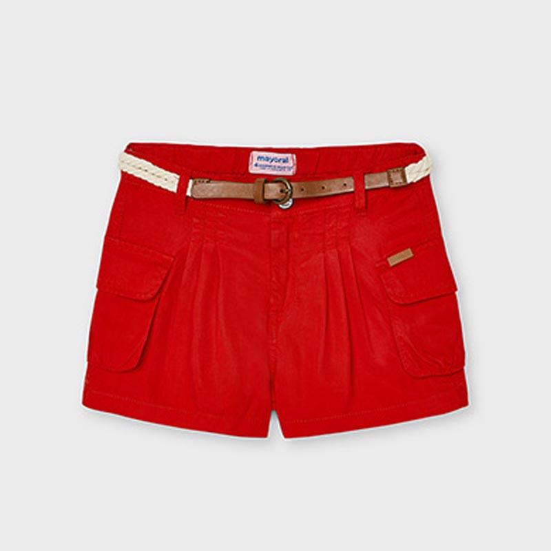 Детски къс панталон с колан Mayoral 3205