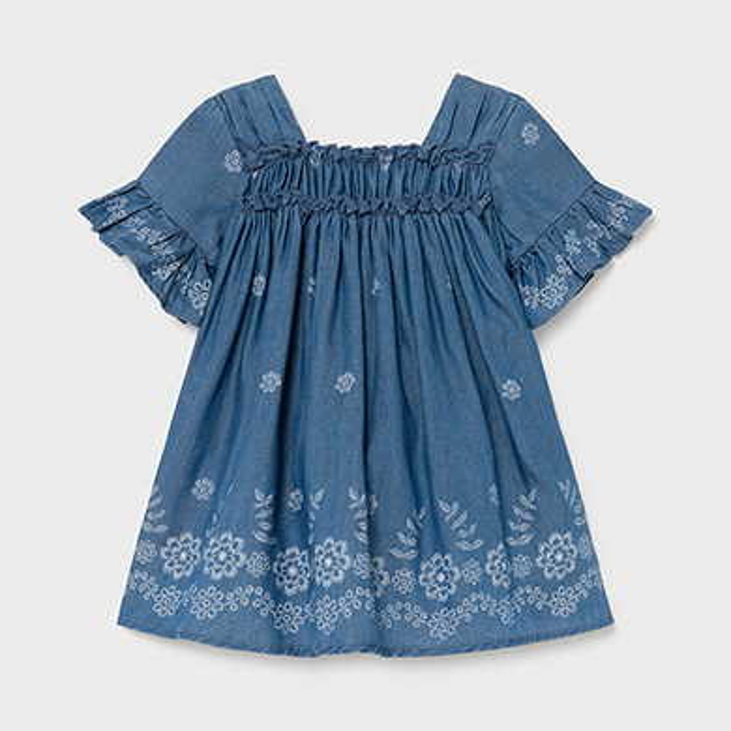 Бебешка дънкова рокля Mayoral 1981