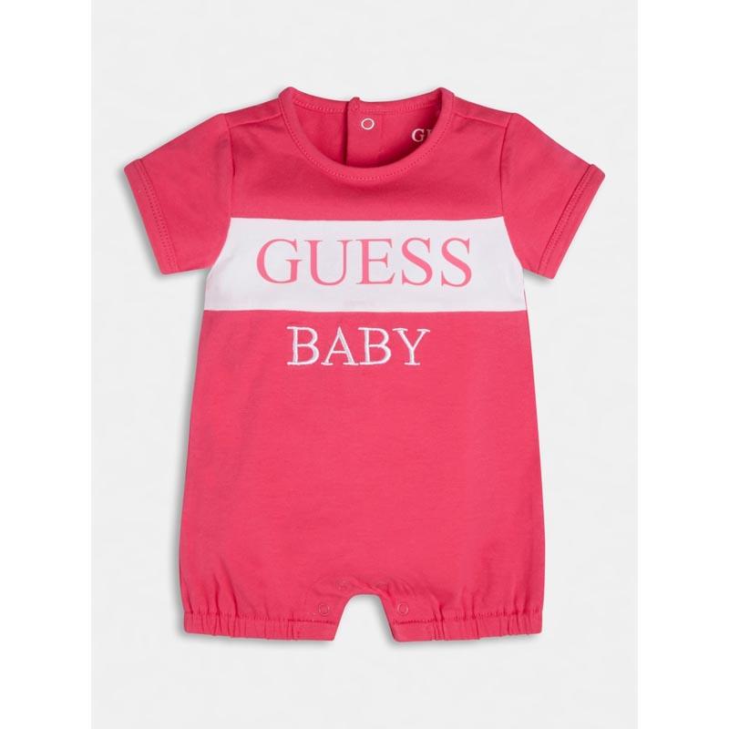 Памучен бебешки гащеризон Guess H1GW01J1311
