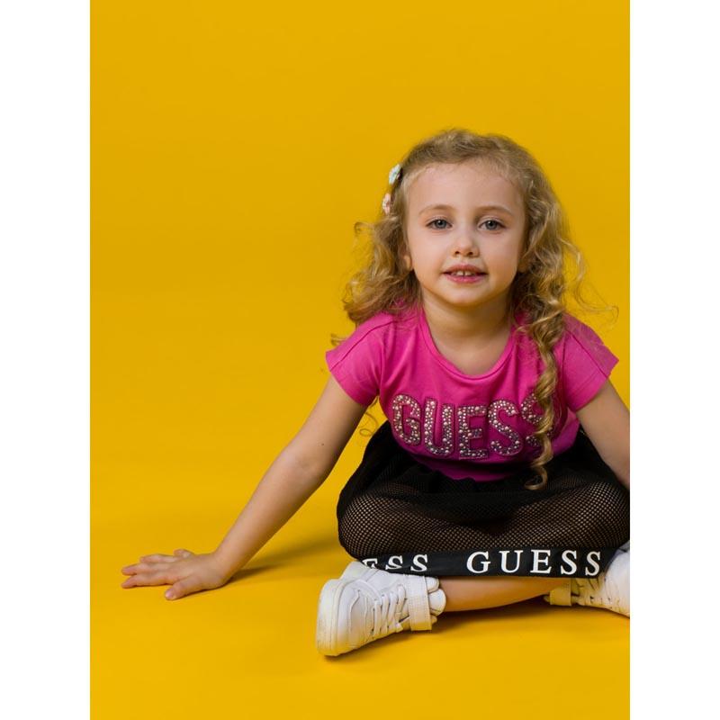 Детска блуза с надпис Guess K1RI07K6YW1