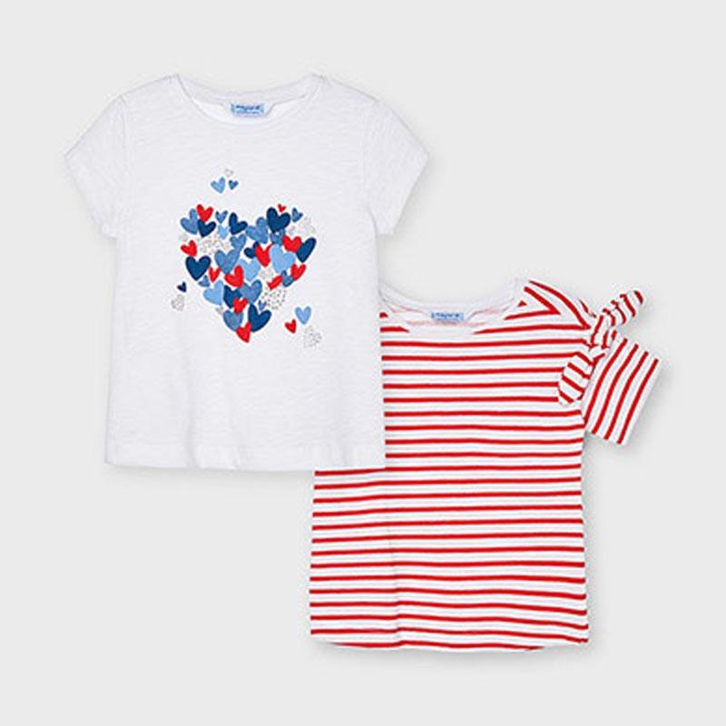 Комплект от 2 блузи за момиче Mayoral 3009