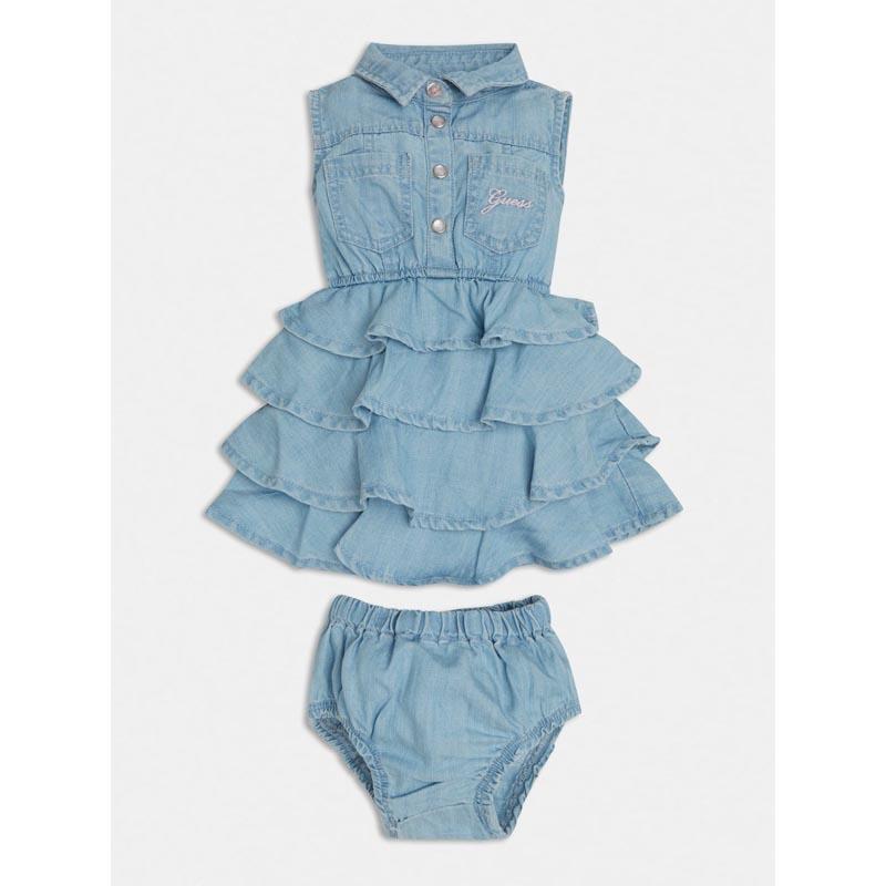 Бебешка дънкова рокля Guess A1RK07D3X30