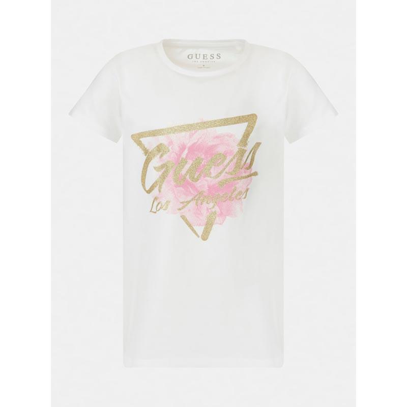 Детска тениска с флорални мотиви Guess K1RI14K6YW1
