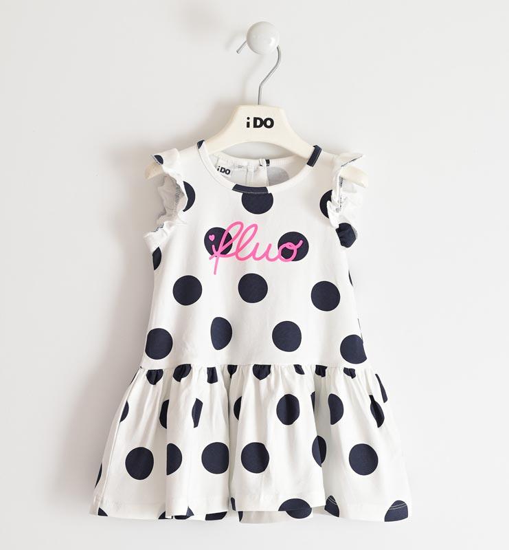 Детска трикотажна рокля iDO 42022