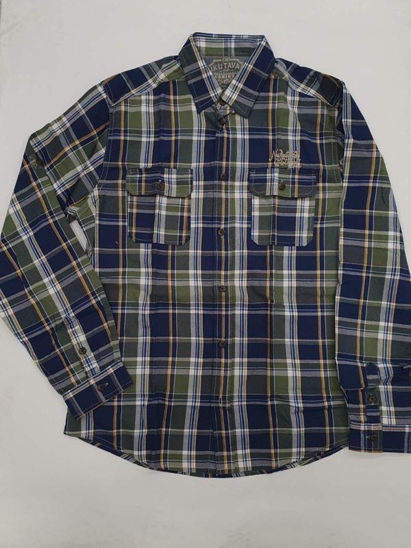 Карирана риза с джобове Mayoral 7149