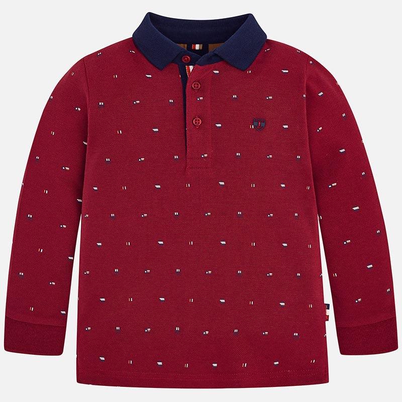Детска спортно-елегантна блуза с яка Mayoral 4104