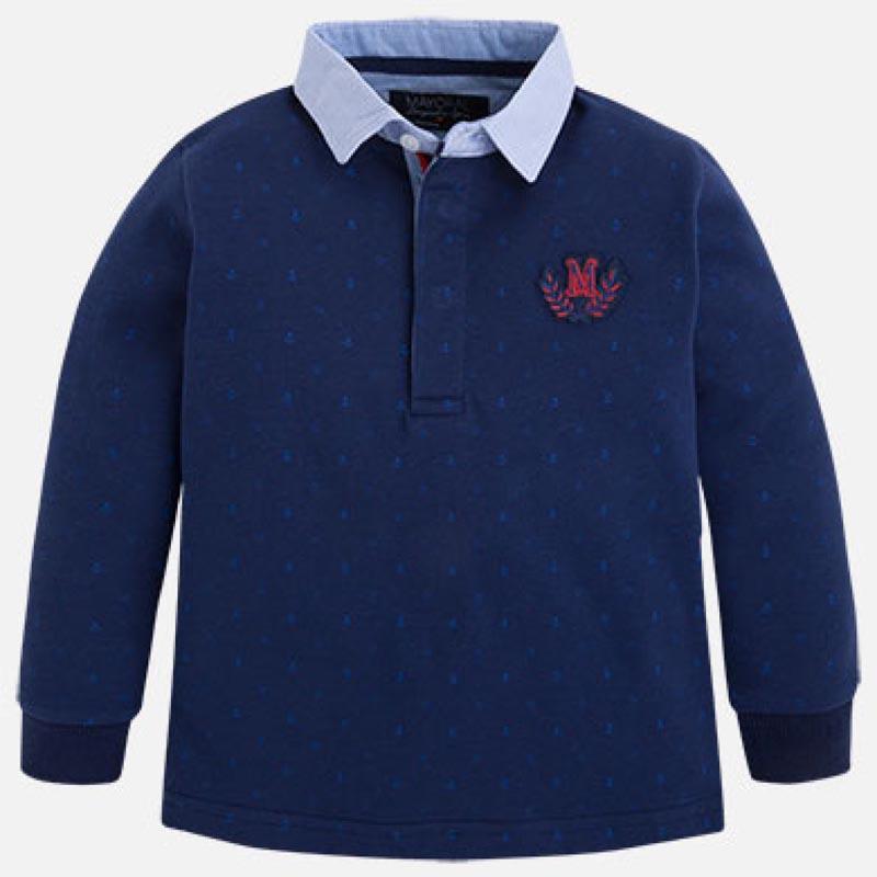Памучна детска блуза с фигурален дизайн Mayoral 4102