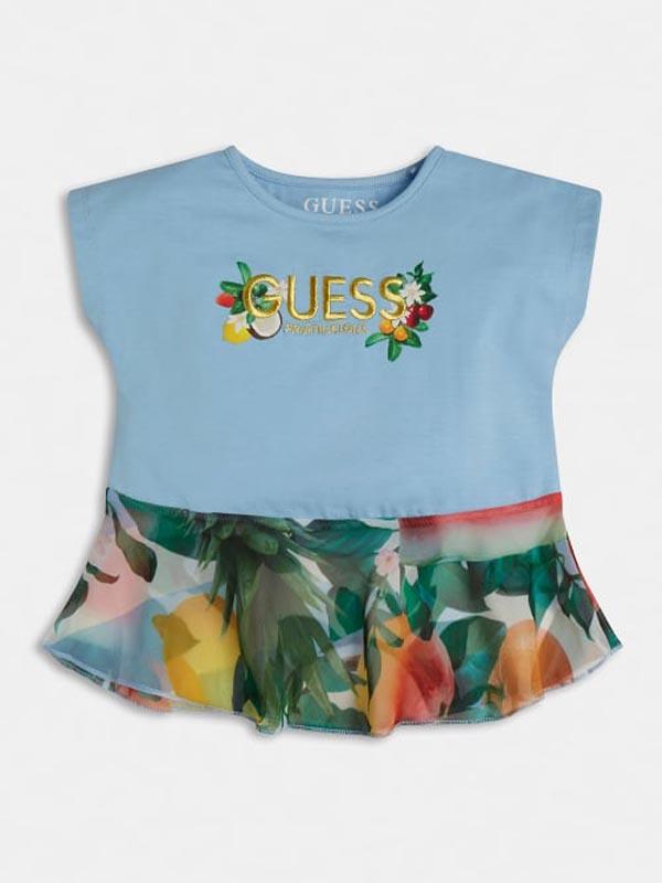 Бебешка цветна тениска Guess K1GI18K6YW0
