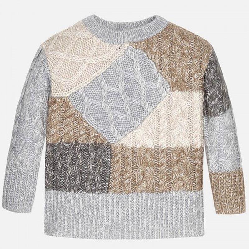 Цветен пуловер за момиче Mayoral 7316