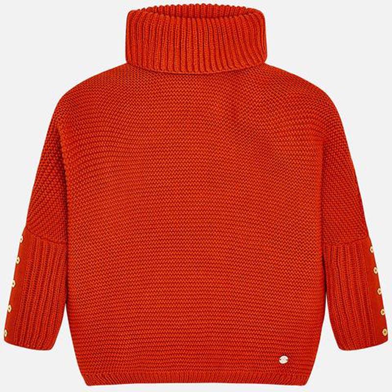 Детски пуловер тип поло Mayoral 7314
