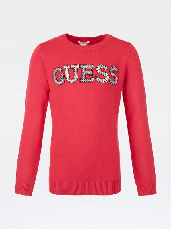 Детска пуловер финно плетиво Guess J1YR07Z2NQ0