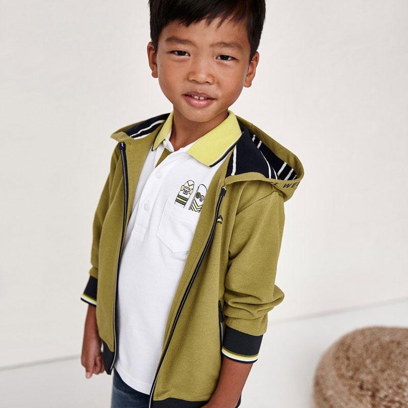 Детска спортно-елегантна поло блуза Mayoral 3107