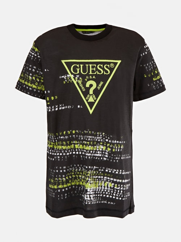 Тениска с надписи и лого Guess L1YI03K8HM0