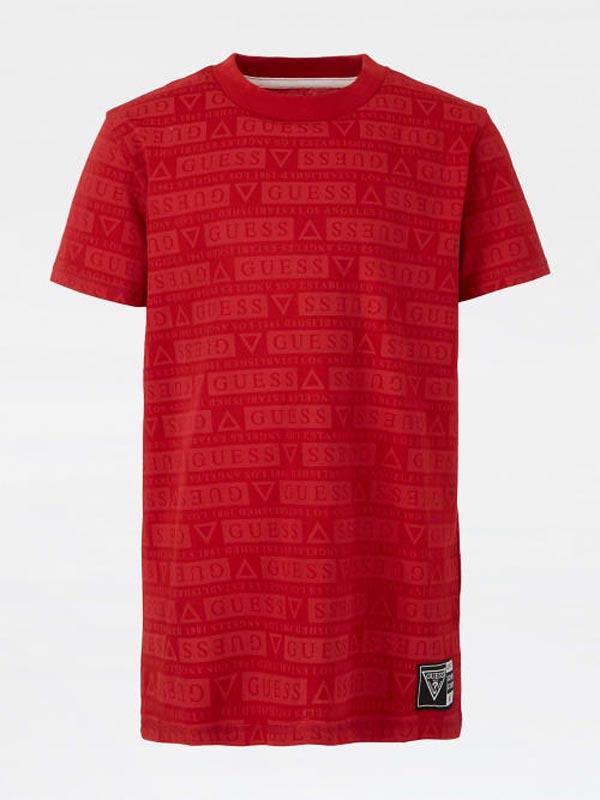 Спортна блуза за момче с лого Guess H1YJ06K8HM0