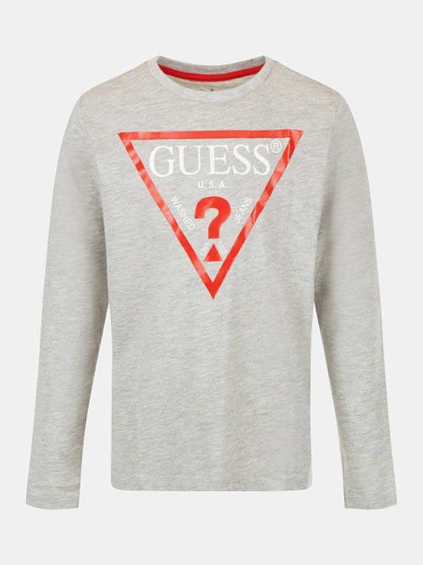 Спортна блуза с дълъг ръкав за момче Guess L84I29K8HM0