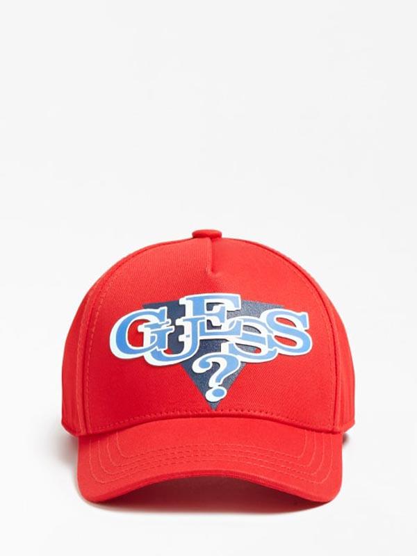 Детска спортна шапка с козирка Guess ABDEL1C0213