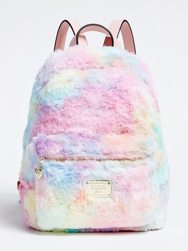 Многоцветна раница за момиче с фин косъм Guess HGTECLPO214
