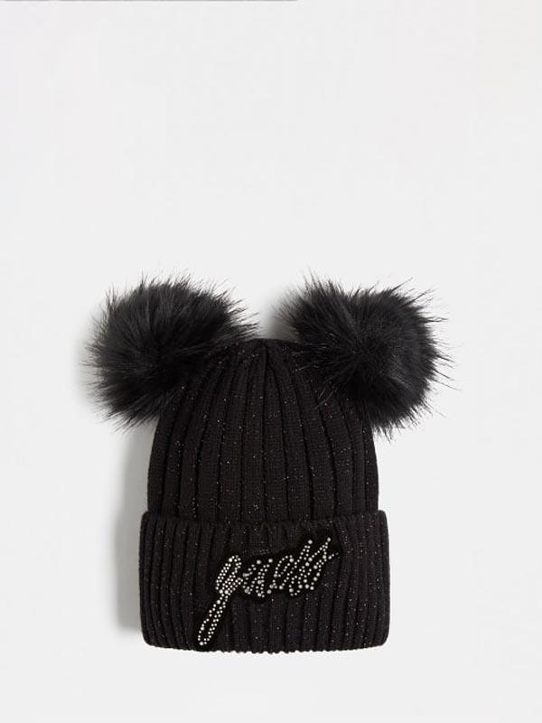Детска зимна шапка с пух Guess J1BZ00Z2X10