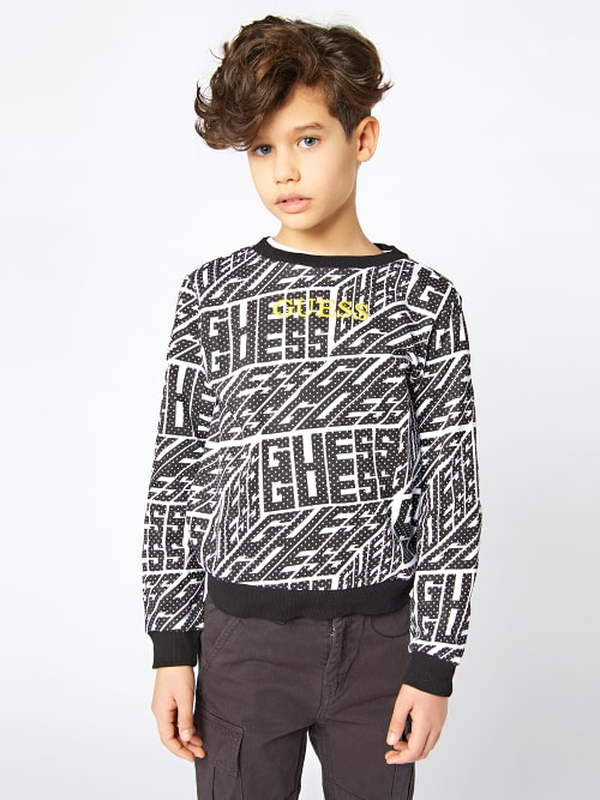 Детска спортна блуза Guess L1BQ00KAD70