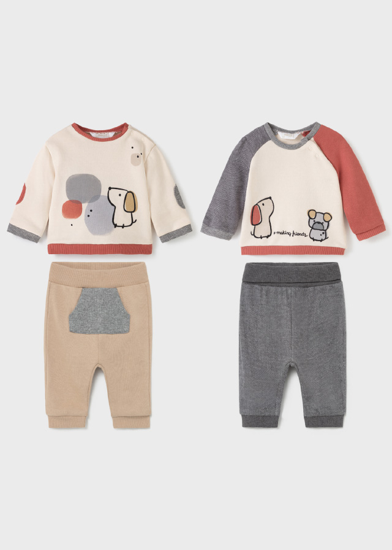 Бебешки комплект от 4 части за момче Mayoral 2691