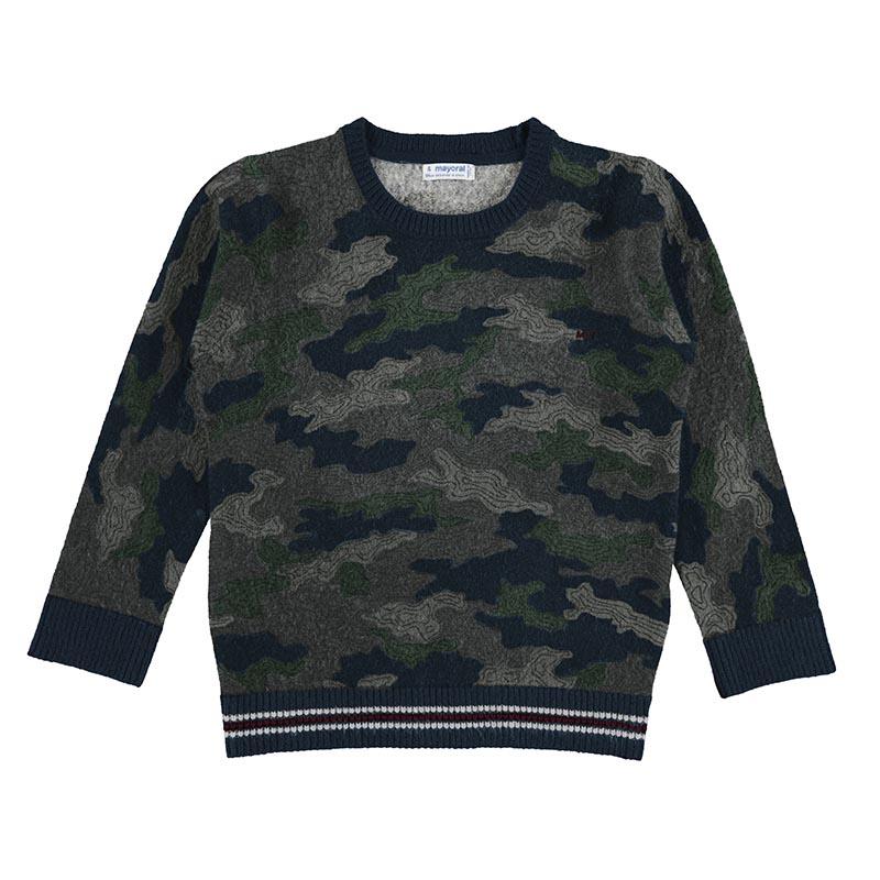 Пуловер от фино плетиво за момче Mayoral 4363