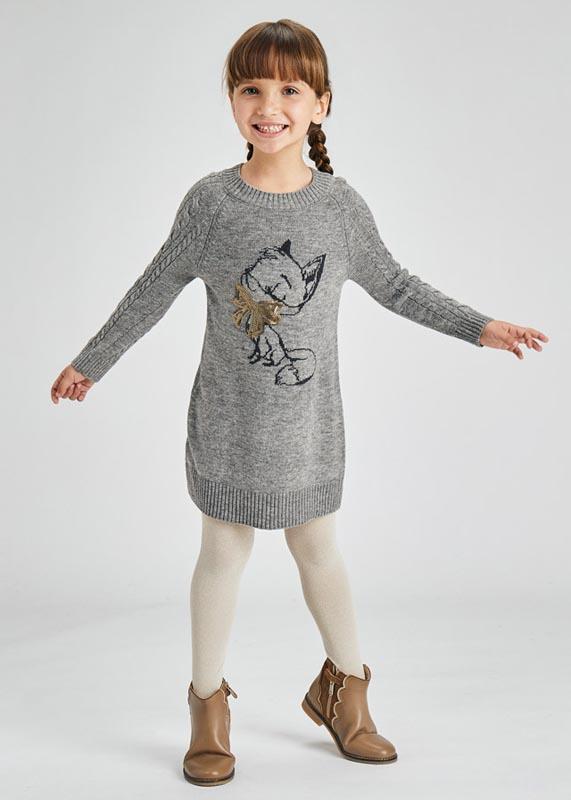 Детска плетена рокля Mayoral 4927