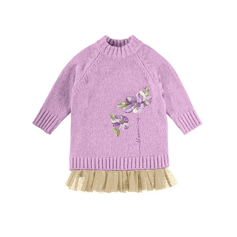 Детска комбинирана рокля Mayoral 4931