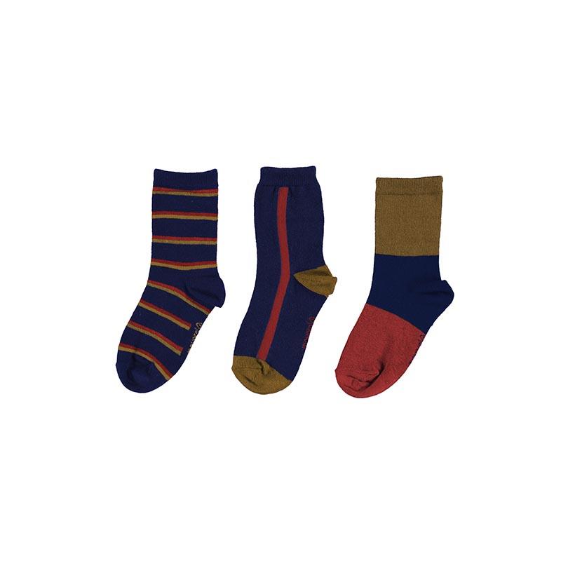 Комплект от 3 чифта дълги чорапи за момче Mayoral 10134