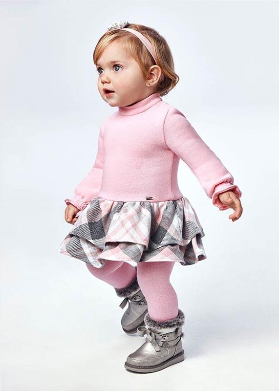 Трикотажна бебешка рокля Mayoral 2908