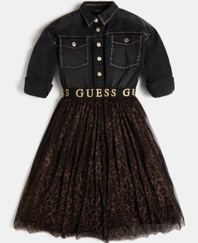 Детска рокля Guess J1BK10D4ICO