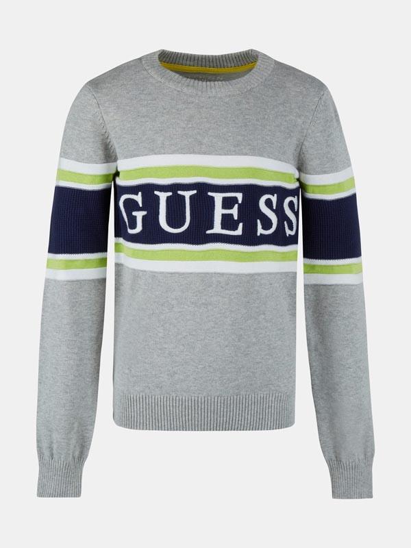 Детски пуловер изработен от фино плетиво Guess N1YR00Z2S40